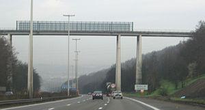 A3 motorway (Belgium) - Image: Viaduc de Cheratte