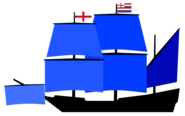 Vice Admirals flagship of Lord Admirals Squadron English Navy (1596)