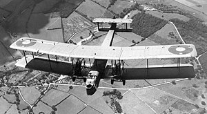 Vickers Virginia - Vickers Virginia in flight