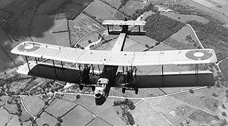 Vickers Virginia - Vickers Virginia in flight