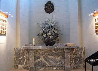 Victoria Police Academy - Chapel of Remembrance for Police who died on duty.