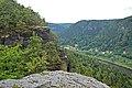 View from the rock Hudba praha.jpg