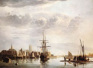 View of Dordrecht, ca. 1655, Aelbert Cuyp, Dutch, 1620-1691, oil on canvas.jpg