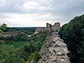 View of Naugolnaya tower, Koporye Fortress.jpg