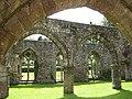 View through the ruins - geograph.org.uk - 876908.jpg