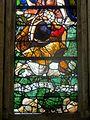 Villers-sous-Saint-Leu (60), église Saint-Denis, vitrail de la Crucifixion et de la Vierge de Pitié 4.JPG