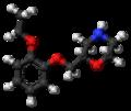 Viloxazine molecule ball.png
