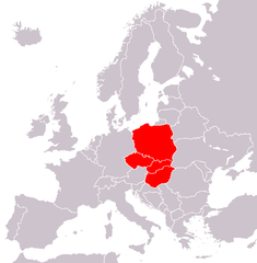 According to The Economist and Ronald Tiersky a strict definition of Central Europe means the Visegrád Group[60][76]