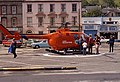 Visiting Helicopter - Bantry Square 1979 - geograph.org.uk - 654256.jpg