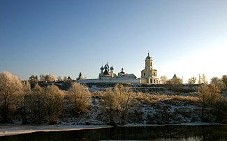 Vissotzki monastery in Serpukhov winter