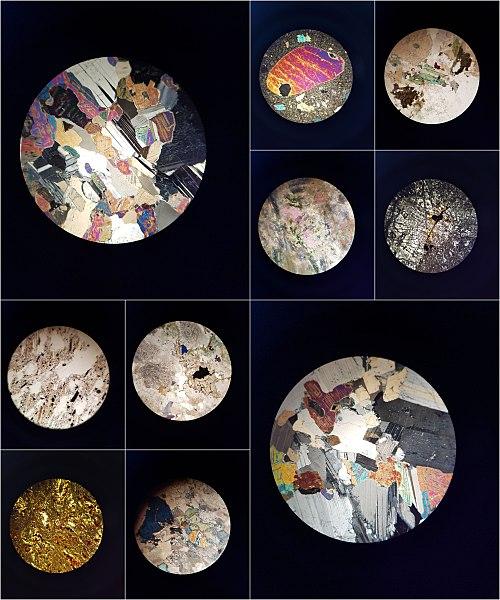 File:Vista de rocas al microscopio polarizante.jpg