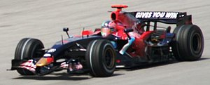 Scuderia Toro Rosso - Vitantonio Liuzzi driving for the team at the 2007 Malaysian Grand Prix