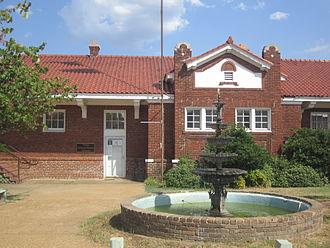 Vivian, Louisiana - The Vivian Railroad Station Museum is located downtown.