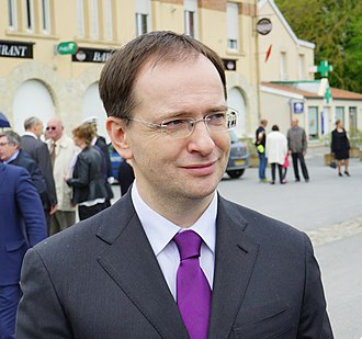 Vladimir Medinsky - Image: Vladimir Medinski 06120 Courcy