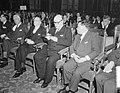 Vlnr. Coudenhove-Kalgeri, prof. Schlichting, Alcide de Gasperi, Paul Henri Spaa, Bestanddeelnr 906-0219.jpg