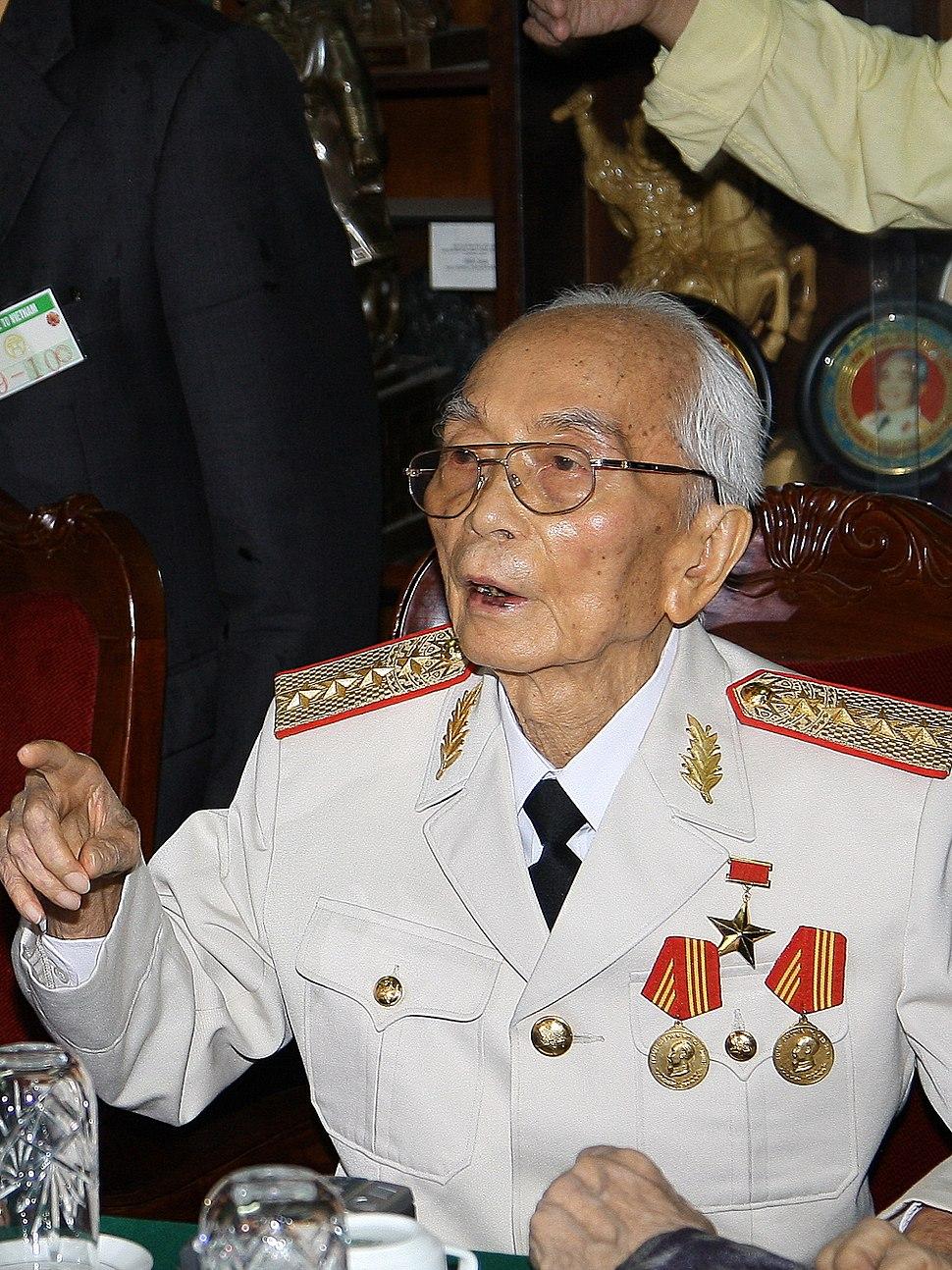 Vo Nguyen Giap 2008