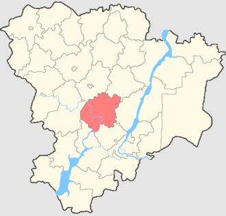 Ilovlinsky District - Image: Volgogradskaya oblast Ilovlinsky rayon