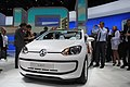 Volkswagen up! azurra sailing at the Frankfurt Motor Show IAA 2011 (6143462463).jpg