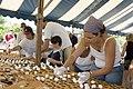 Volunteers work on the largest smore display (6077097932).jpg