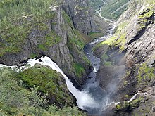 Voringsfossen waterfall at Eidfjord, Norway.jpg