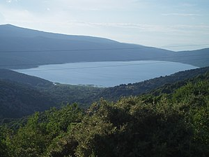 Lake Vrana (Cres) - Lake Vrana on the island of Cres.