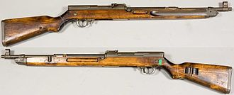 Vz. 52 rifle - Vz. 52 from the Swedish Army Museum.
