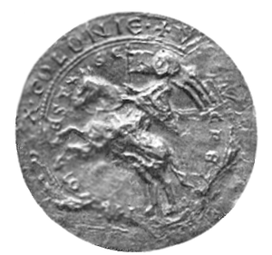 Duchy of Greater Poland - Ducal seal of Władysław Odonic, 1231