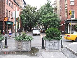 4th Street (Manhattan) Northwest-southeast street in Manhattan, New York