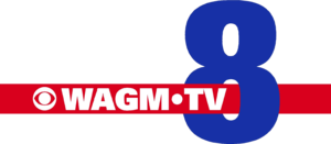 WAGM-TV - Logo used between 2006 and 2012, after the termination of their UPN and NBC affiliations (respectively) and thus becoming a full-time CBS network affiliate, thereby bringing, for the first time, a lone-affiliate station to broadcast to and from Northern Maine.