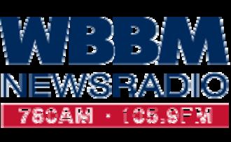 WCFS-FM - Image: WBBM AM Logo
