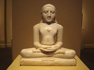 Ādi purāṇa - Statue of Jina Adinatha at LACMA