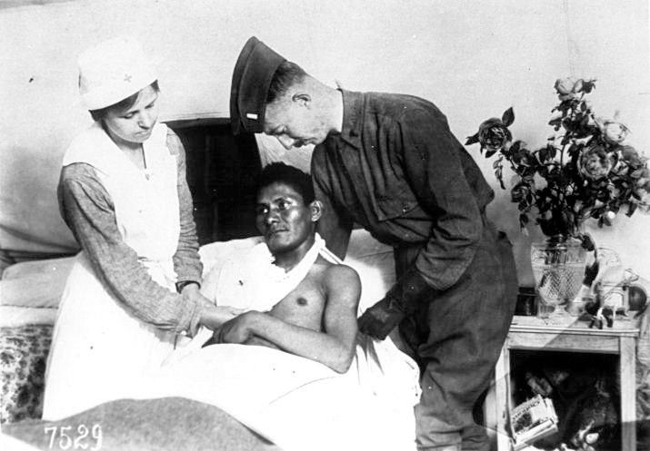 WWI choctaw patient1