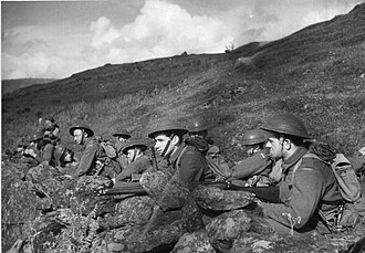 I Corps (Polish Armed Forces in the West) - Soldiers of Polish I Corps in Scotland, 1941