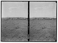 Wady Shaib Es-Salt, Amman, etc. Town of Zerka. Near the head of Wady Zerka. LOC matpc.02742.jpg