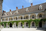 Waidhofen an der Ybbs Rothschildschloss Arkaden 03.jpg