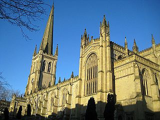 Wakefield Cathedral Church in West Yorkshire, United Kingdom