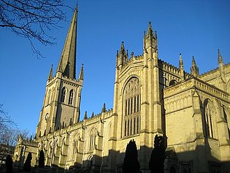 Wakefield - Wakefield Cathedral.
