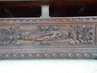 Hope chest - Intricate designs; typically the most decorated in the home during the prime time of the hope chest.