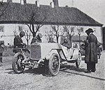 Walter WIZI (1922) vítěz Pinner na startu Zbraslav - Jíloviště.jpg
