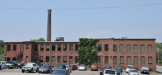 National Register of Historic Places listings in Waltham, Massachusetts - Image: Waltham MA American Watch Tool Company