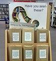 Waltham Abbey Library book display close up (31694579428).jpg
