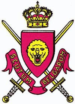 Belgian Forces in Germany - Image: Wappen Belgische Streitkräfte in Deutschland