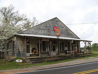 Ward, Alabama - Store in Ward, 2008