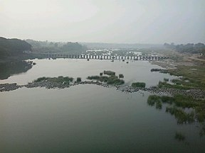 Wardha river at Pulgaon