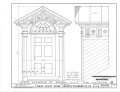 Ware-Sibley-Clark House, 506 Telfair Street, Augusta, Richmond County, GA HABS GA,123-AUG,36- (sheet 4 of 8).png