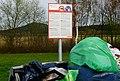 Warnschild an einem Autobahnparkplatz in Baden-Württemberg bei Bickelberg 02.jpg