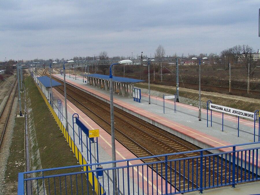 Warszawa Aleje Jerozolimskie railway station