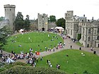 Visitors at Warwick Castle