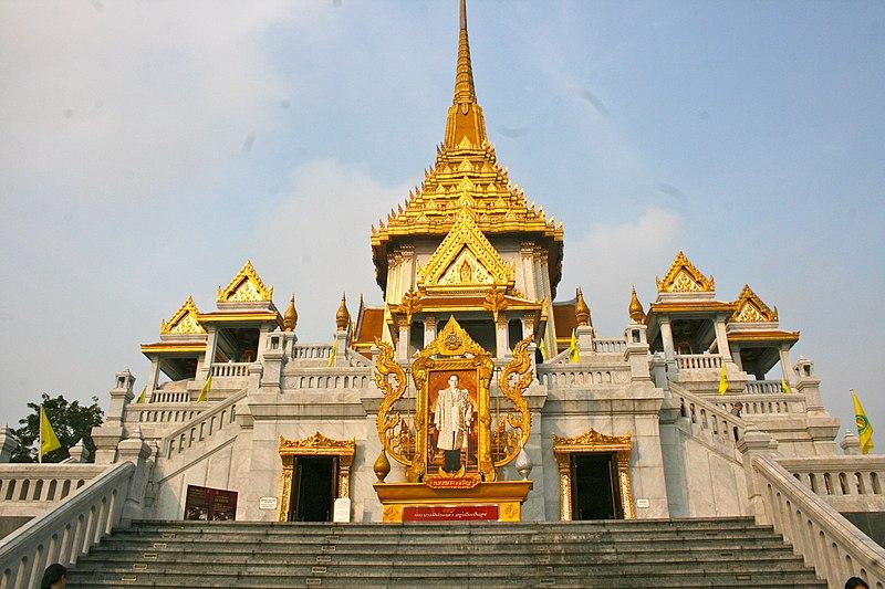 Description Wat Traimit Temple  home of The Golden Buddha  8282543652    Wat Traimit