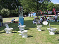 Water Aid WCs - Archbishop's Park - geograph.org.uk - 453032.jpg
